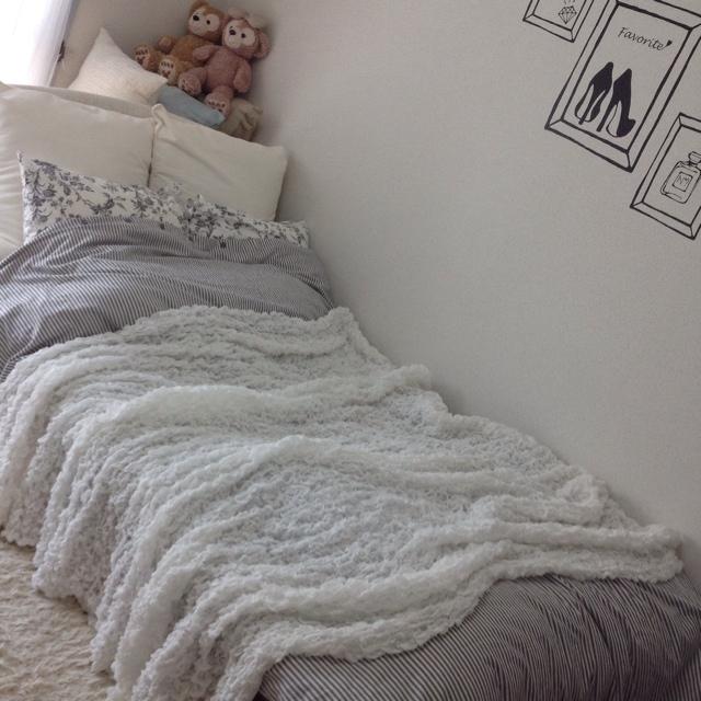 寝心地も雰囲気もUP!IKEAのベットリネンとブランケット