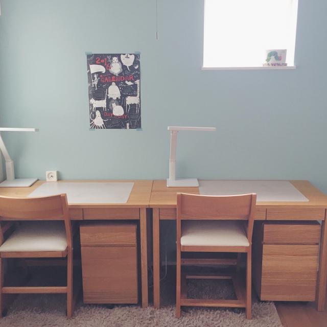 学習机は無印良品とニトリで!子どもにピッタリなのはコレ