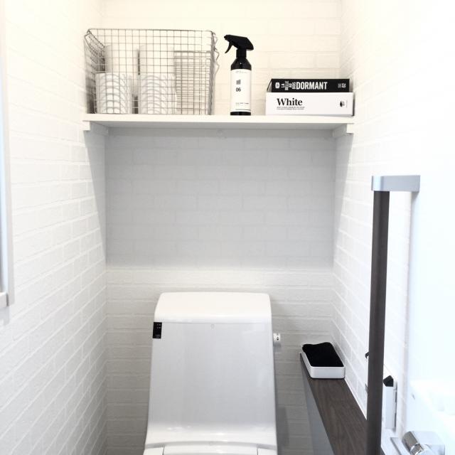 シンプルでお洒落なトイレのインテリア収納実例まとめ Naver まとめ