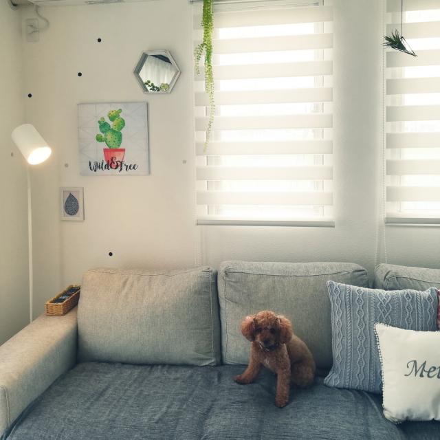 さまざまなお部屋のスタイルに対応!ニトリのフロアランプ