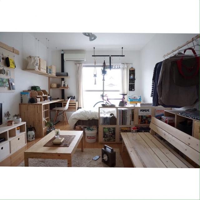 趣味がDIYの大工さん。「作る」プロの、自作家具で満たされた部屋 〜seiyaさん〜[連載:RoomClip_新人ユーザー紹介]