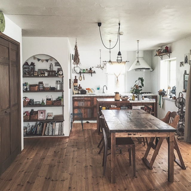 「明るく自分好みの動線へ。夫婦の夢を叶えたカフェ住宅」 連載:リノベじゃなきゃ、ダメでした。by kokuri0306さん