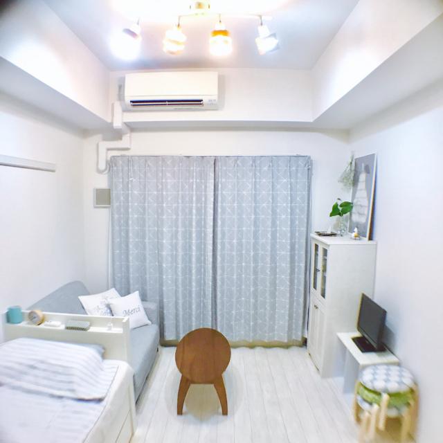 「21m2。カラーバランス、季節感で大人可愛さを楽しむ部屋」 by bonvoyageさん
