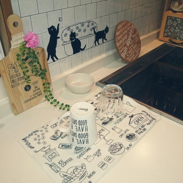家事だってもっと楽しくしたい♡セリアの食器洗いグッズ