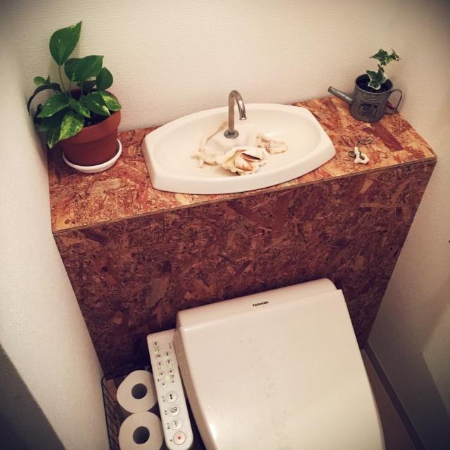 DIYの新定番!タンクレス風でトイレをワンランクアップ