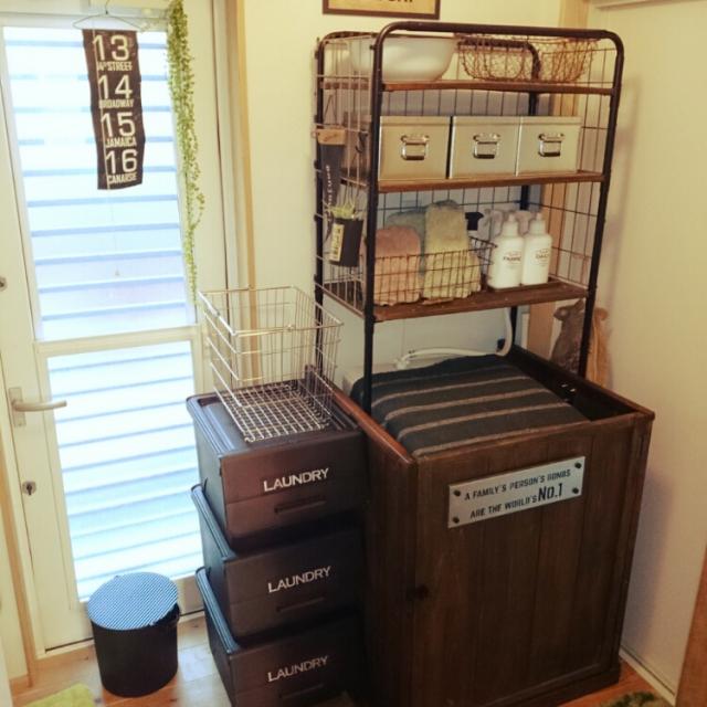 洗面所・洗濯機周りなど「バスルーム」の収納アイディア