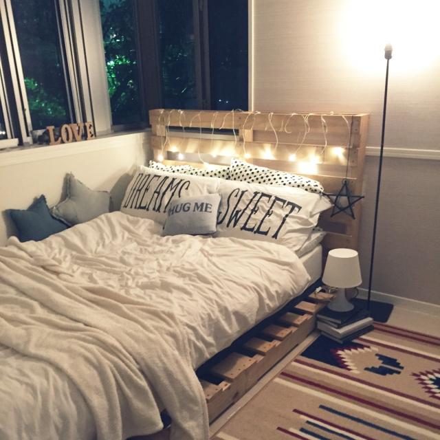 話題の「木製パレット」をリメイクして家具を作ってみよう! | RoomClipMag | 暮らしとインテリアのwebマガジン
