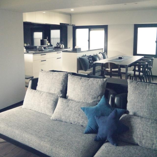 「条件をすっきり満たす、明るくつながる室内窓のある住まい」 by nitaandさん