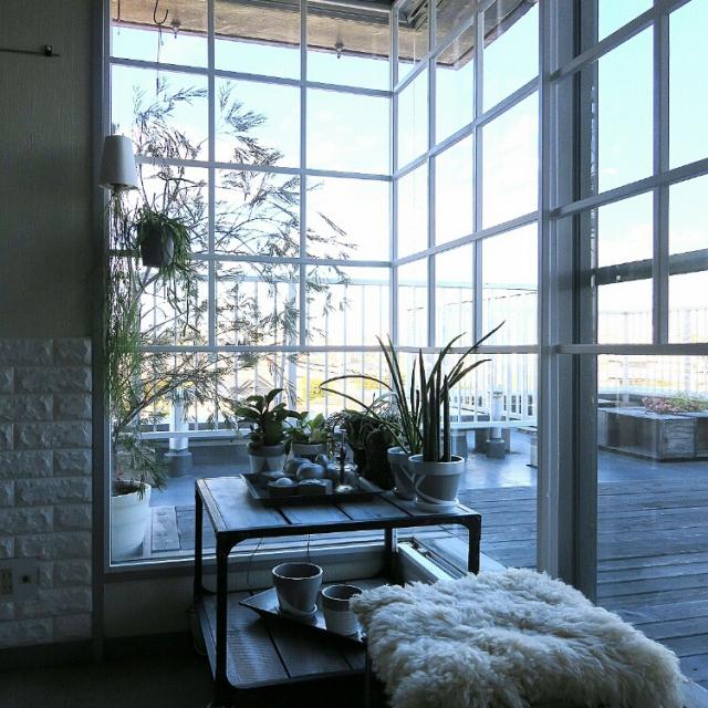 DIYでうっとり美しい♡お気に入り窓辺のできあがり!