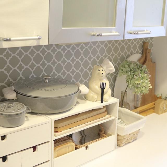 調理中のストレスも軽減!かさばりやすいお鍋の収納方法
