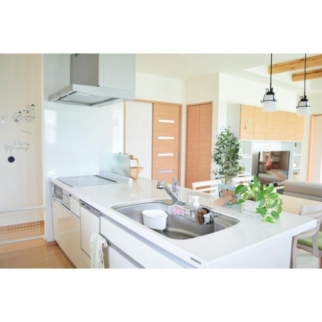 「きれいだから使いやすい。家族と一緒に料理を楽しめる空間」憧れのキッチン vol.105 asukaさん