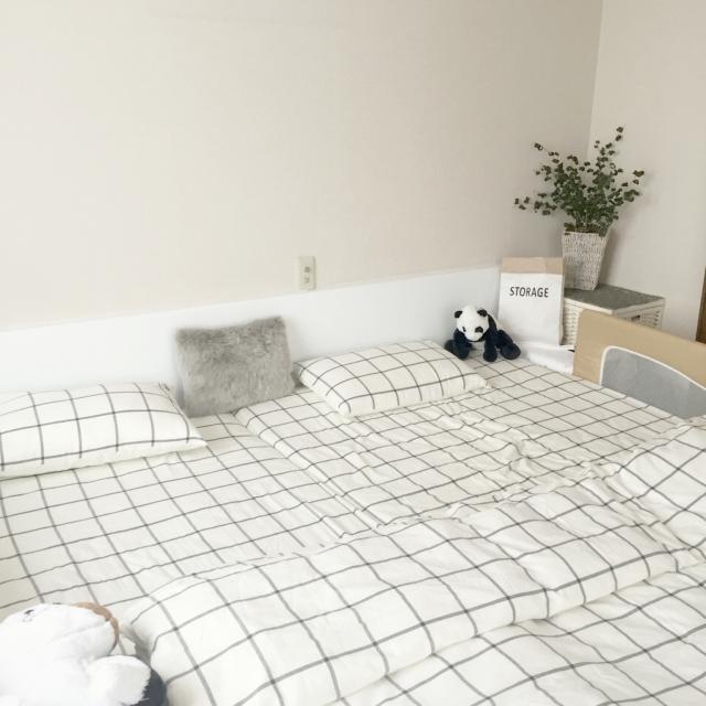 ニトリの布団カバーで寝室が変身♪人気のデザインに注目!