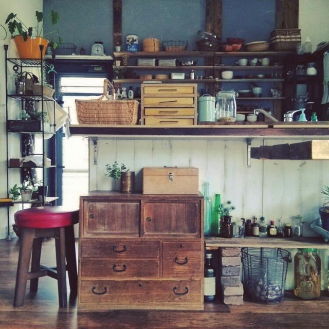 和箪笥をおしゃれにリメイクして活用してみる | RoomClipMag | 暮らしとインテリアのwebマガジン
