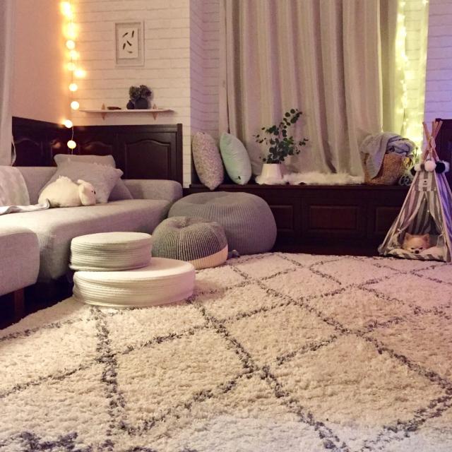 家で過ごす時間をもっと快適に♡夜を美しく彩るインテリア