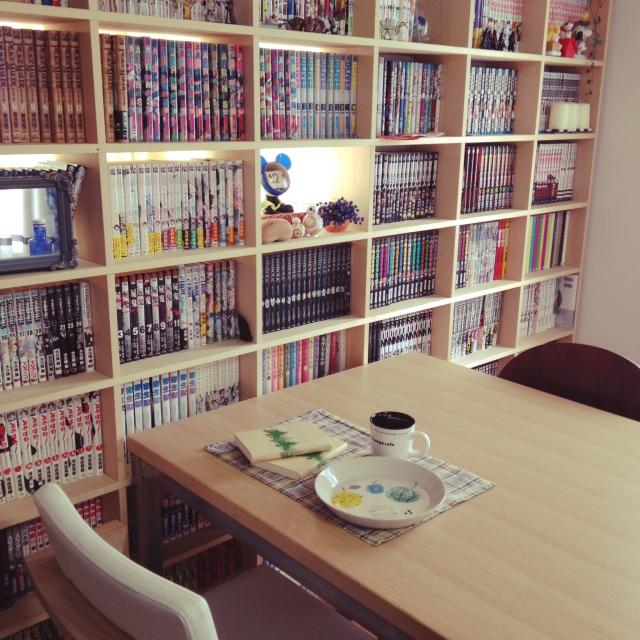 本好きさんのあこがれ♪お家に図書館みたいなスペースを