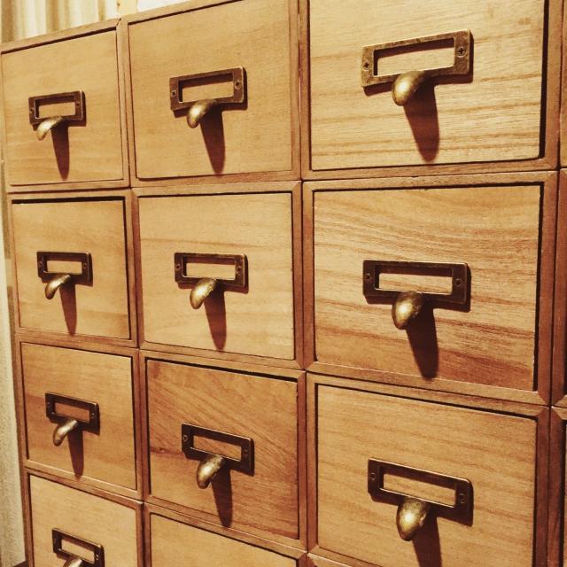 大人気のドロワーボックスはリメイク素材にもピッタリです。