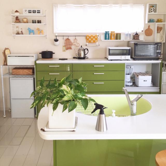 温もりのあるシンプルさが心地良い!憧れの北欧キッチン