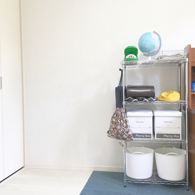 「成長と共に進化する、清潔感あるホワイト収納の作り方」 by akane.920さん