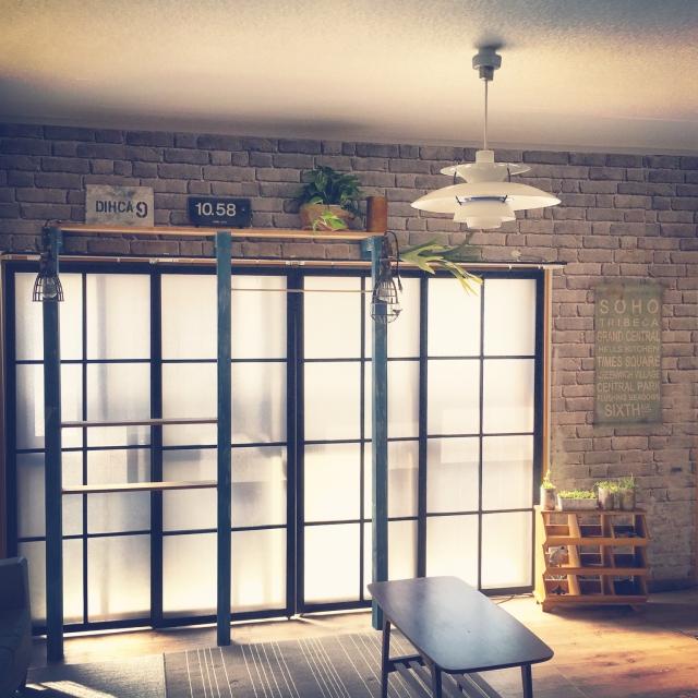 賃貸でもOK!カーテンレールを活用した窓枠増設DIYテク by tarako_tenさん