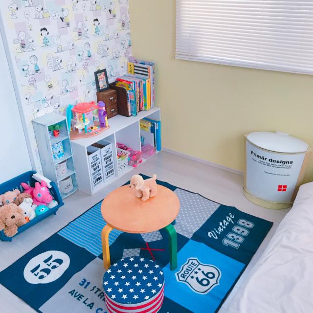 みんなの子ども部屋が見たい!収納もアイテムも。ニトリでつくる子ども部屋【PR】