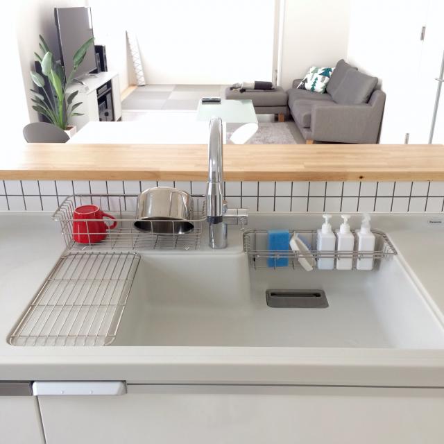 「イメージが導く、ゆとりとラクのあるシンプルなキッチン」 by kaoru224さん