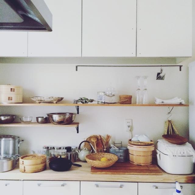 美しいものに囲まれて♡使いやすいキッチン道具