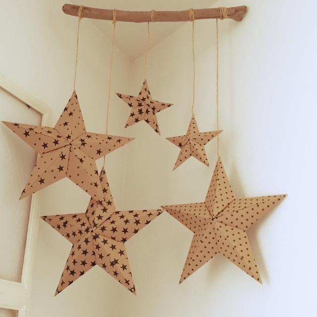簡単 折り紙 折り紙 星 作り方 : divulgando.net