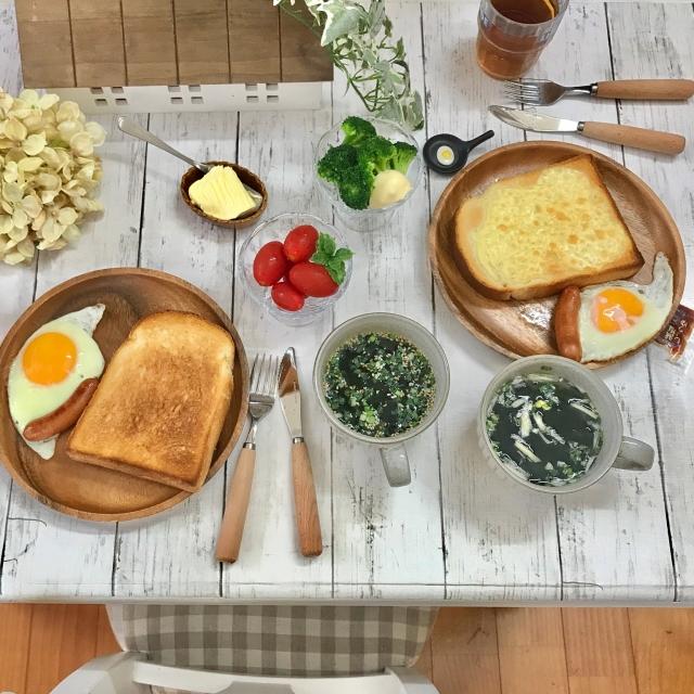 もっと食事が楽しくなる☆キッチンのテーブルまわりのコツ
