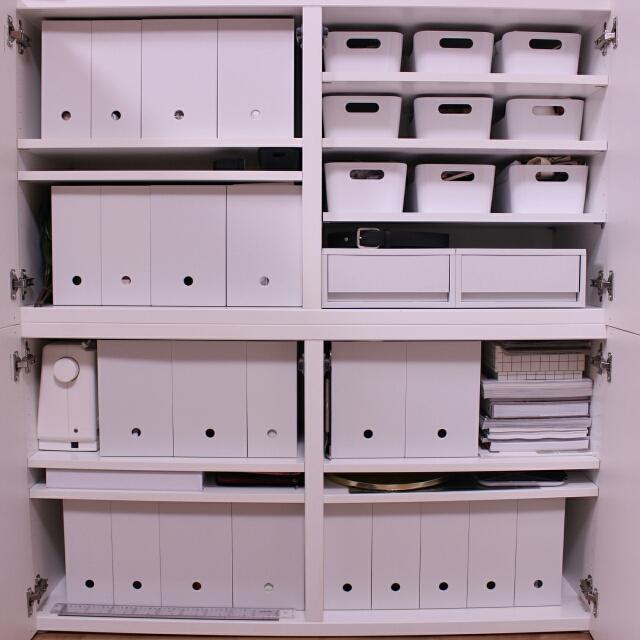 無印良品とニトリのファイルボックスが人気!活用術を解説