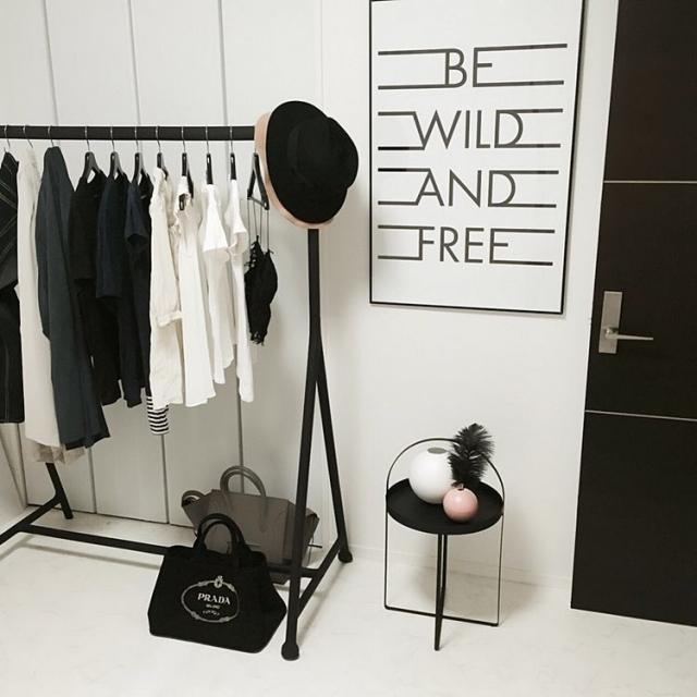 IKEAのハンガーラックで洋服収納♪人気のアイテムに注目!