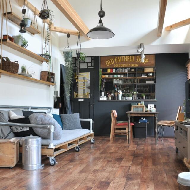 ブルックリンスタイルが魅力的☆家具や壁紙を選ぶポイント