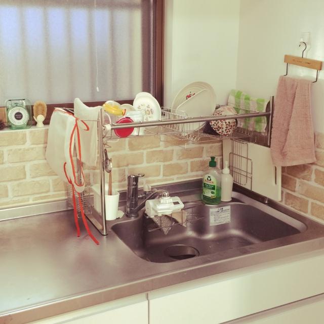 より快適に、清潔に☆わが家の「水切り」の置き方・使い方