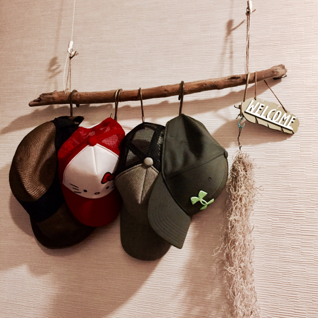 美しいしまい方でファッションを楽しむ♡帽子収納見本集