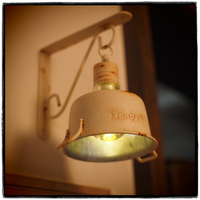 ライトにちょっとひと手間加えておしゃれな光を楽しみませんか?