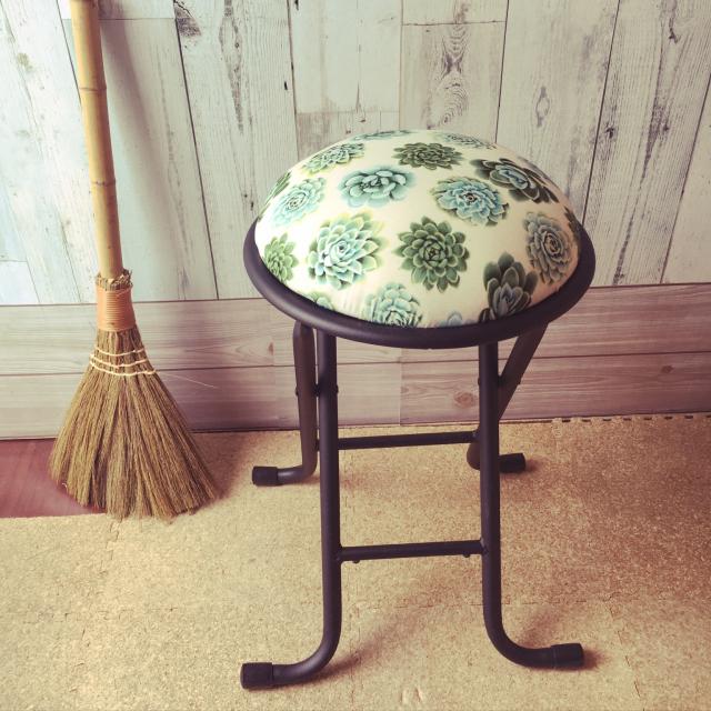 世界にひとつの手作り椅子♡DIYのワザが光る本格チェア