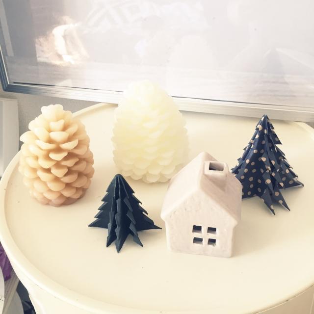 すべての折り紙 部屋 飾り付け 折り紙 : クリスマスの飾り/松ぼっくり ...