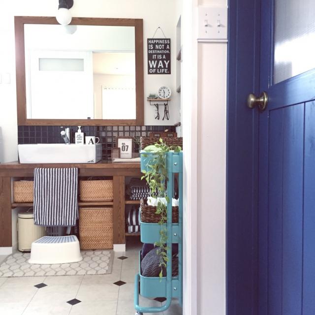 洗面所を快適に。簡単・便利な洗面所の収納術10選!