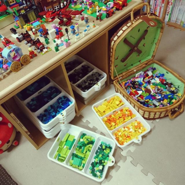子どもウキウキ、ママラクラク♪ぜひマネしたいレゴ収納術