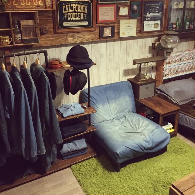 「22m2。アイデアDIYで生み出す、古着屋ライクなムード」 連載:ワンルーム1Kの暮らし by shota26さん