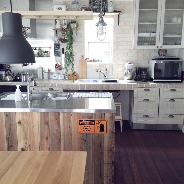 ... キッチンのインテリア実例写真