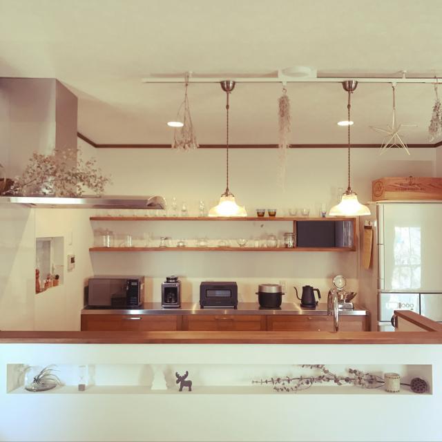 使いやすくて見ばえ良し♡わが家のお気に入り炊飯器置き場
