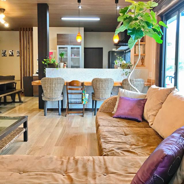 リゾート風で開放的な空間!ホテルライクな部屋の作り方