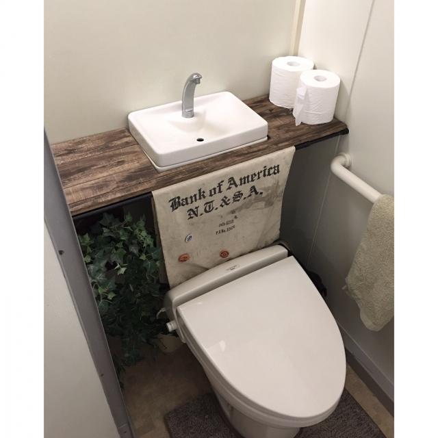 トイレをDIYで快適に♪話題のタンクレス風トイレ実例集