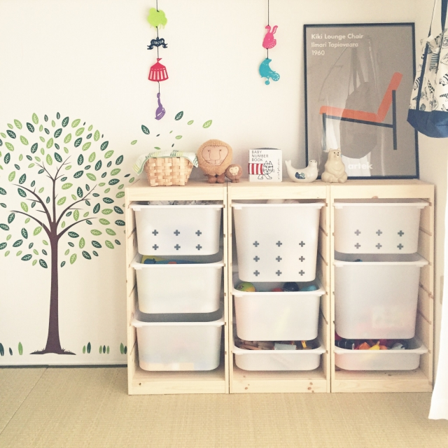IKEAファンに贈る、リビングをスッキリ整理する収納術