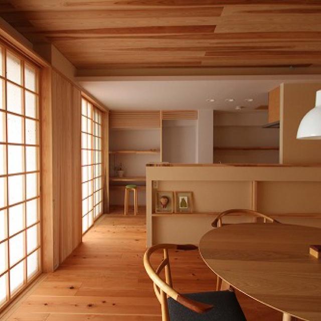 Lounge,椅子,ルイスポールセン,珪藻土,杉,シーエッチ建築工房のインテリア実例   RoomClip (ルームクリップ)