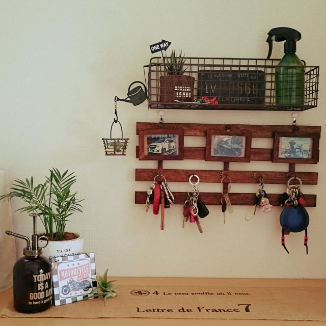 省スペースで断然便利♡壁掛け小物収納DIYで探し物ゼロに