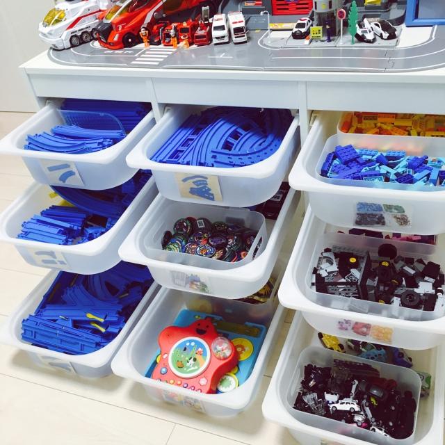 家族で片付けルーティン化☆簡単わかりやすい収納のコツ by yanaさん