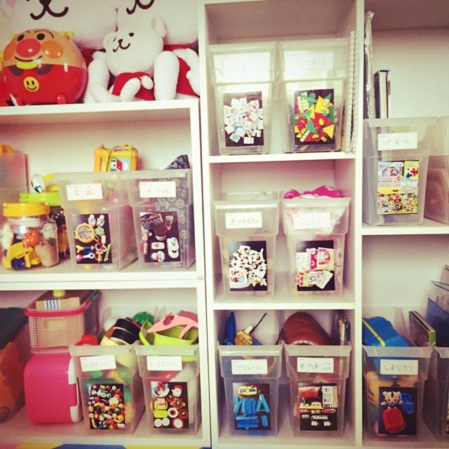 「片付け習慣が身につく♪『貼るだけ』収納BOX」 by momonokiさん