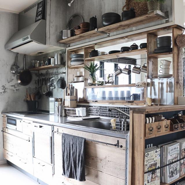 思わずうっとり!美しすぎるキッチンの整理・収納ワザ