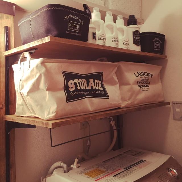 My Shelf,ダイソー,雑貨,100均,DIY,セリア,賃貸,ディアウォール,男前,mon・o・tone,たくさんのいいねをありがとうございます♡,ストレージBOXのインテリア実例 | RoomClip (ルームクリップ)